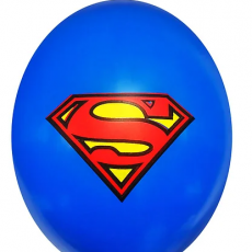 "Шар с принтом ""Супермен"