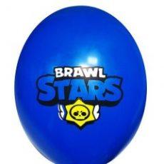 """Воздушный шар с рисунком """"Brawl stars"""""""