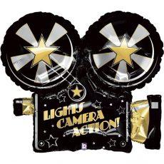 Фольгированный шар камера голливуд