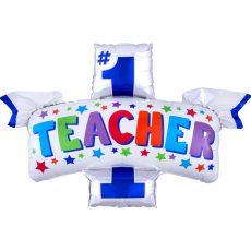 Фольгированный шар лучшему учителю