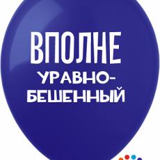 """Латексный шар """"Вполне Уравнобешенный """""""