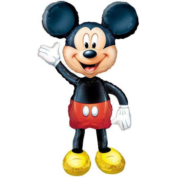 Ходячая фигура Микки Мауса
